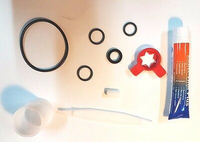 Service kit for Taylor 152, 150, 162 and 168 ice cream machines with lubrifilm