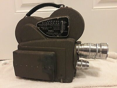 Vintage Auricon Cine-Voice CM-72 16mm Sound Film Studio Motion Movie Camera