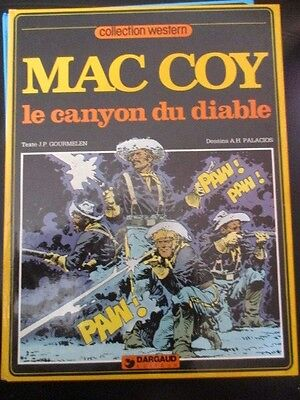Mac Coy Le canyon du diable Edition originale EO Rossi Charlier