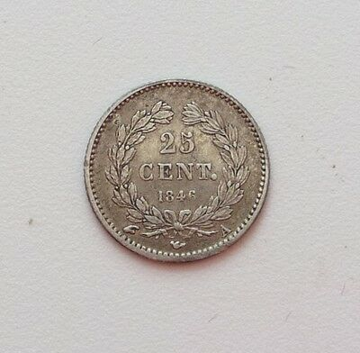 LOUIS-PHILIPPE 25 centimes 1846 A