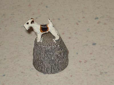 Stephen Frost Thimble Fox Terrier/airedale Free Shipping
