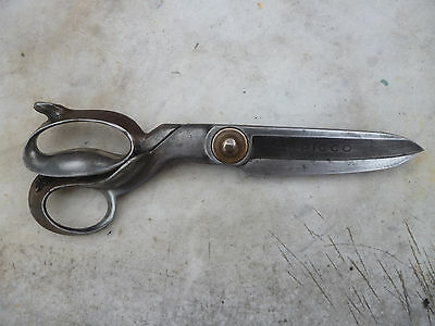 """Large Vintage Picco Dressmakers/Upholstery Scissors/Shears 12"""" inches Overall"""