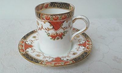 Vintage Royal Sutherland bone china rose border teacup and saucer