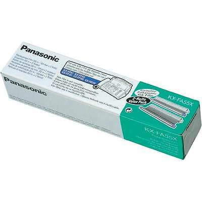 Genuine Panasonic KX-FA55X ink film Cartridge Roll twin pack