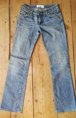 Jean femme paperdenim&cloth T. 36 (U.S 26), taille basse, coupe droite