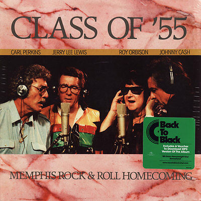 C. PERKINS, J.L. LEWIS, R. ORBISON, J. CASH Class Of '55: Memphis Rock & Roll LP