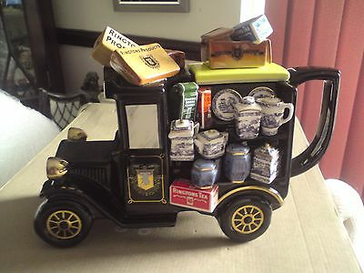 The Ringtons Delivery Van Teapot Limited Edition Rare Paul Cardew , VGC,