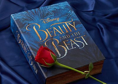 New *Limited Edition* Disney Beauty And The Beast Book Storage / Gift Box