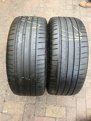 225 40 ZR 18 92Y XL Michelin Pilot Sport 4 2x Tyres Fitting Available A Pair