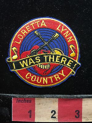 LORETTA LYNN I WAS THERE COUNTRY MUSIC Patch (? NASHVILLE TENNESSEE ?) 73WU