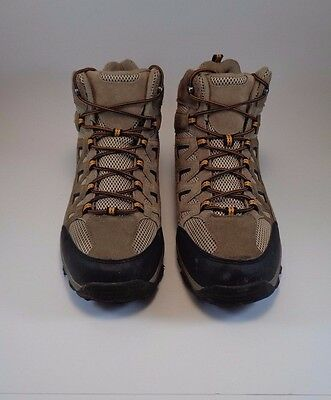 Merona Moab Ventilator Mid Walnut Tan Men's Hiking Boots Trail Walking o