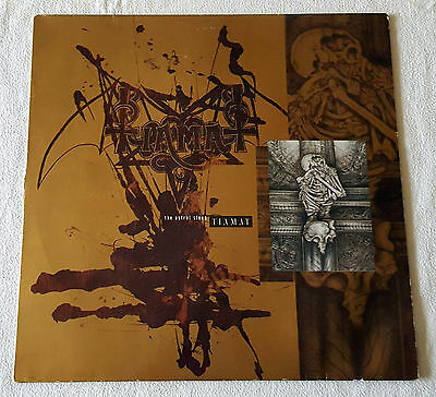 Tiamat - The Astral Sleep - LP - 1991 Rare First Press Century Media Records OIS