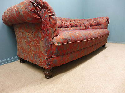 Large Antique Victorian Chesterfield Sofa