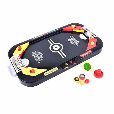 De.*top Table Game Mini Air Hockey Indoor Outdoor Play Interactive Toy Gift FO