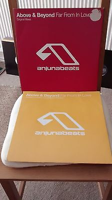 Above & Beyond - Far From In Love + Remixes - Anjunabeats vinyl