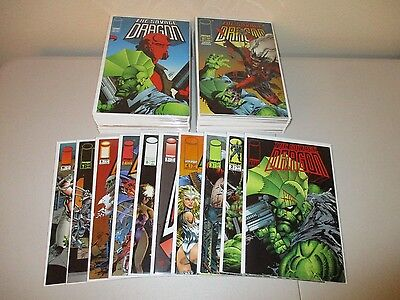 Savage Dragon #1-58 (Full Lot of 60) 1993 Image #40 She-Dragon Variant, 31 50 51