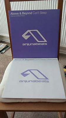 Above & Beyond - Can't Sleep + Remixes - Anjunabeats vinyl 2x12""