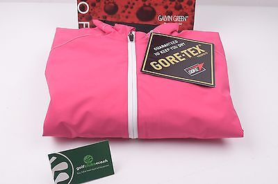 Ladies Galvin Green Adele Goretex Jacket / Berry-White-Silver / Large /otogal004