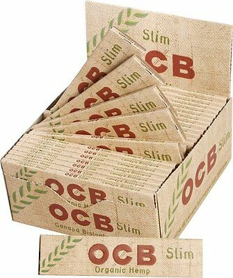 OCB Organic Slim Kingsize x 50 Box