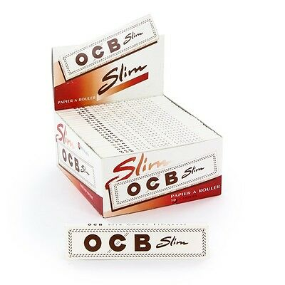 OCB Papers white Slim KS x 50