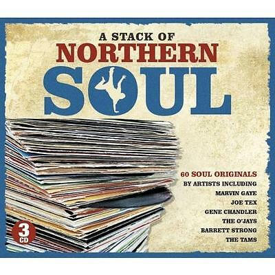 A STACK OF NORTHERN SOUL Various Artists NEW & SEALED  3X CD BOX SET R&B