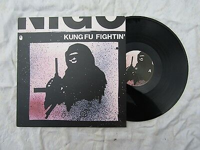 "NIGO 12"" KUNG FU FIGHTIN'  textured sleeve mo wax / mwr 127 plays out-standing"