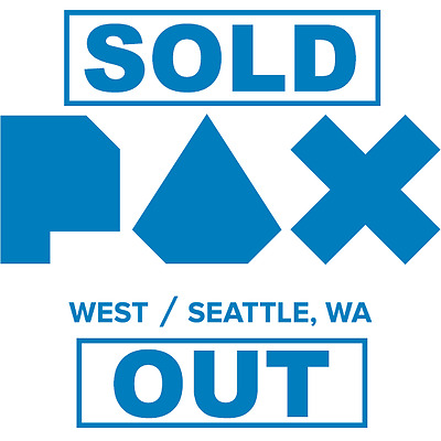 PAX WEST PRIME 4 day pass 9/1/17 - 9/4/17 Full set, FRI, SAT, SUN. MON(SOLD OUT)