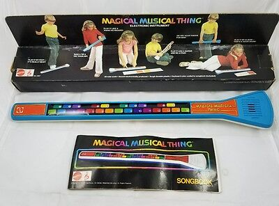 1978 MAGICAL MUSICAL THING Mattel Electronic Keyboard w/ Box Songbook Work Great