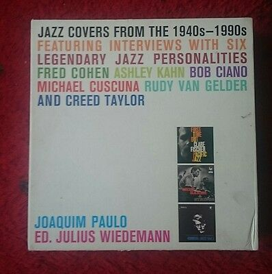 Jazz covers from the 1940's-1990's, 2 hardback book box set