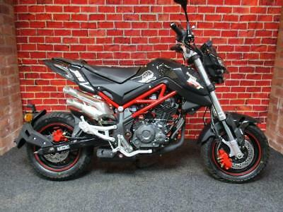 BENELLI TORNADO 125cc TNT NAKED T NEW FOR 2017 MSX GROM