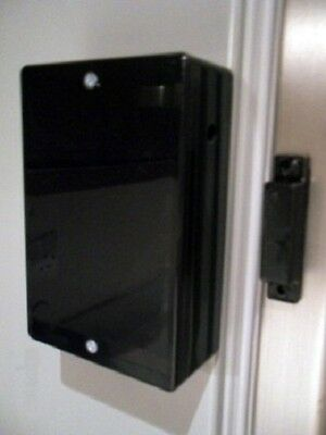 Black Fridge Freezer Door Alarm With Adjustable Time-Delay