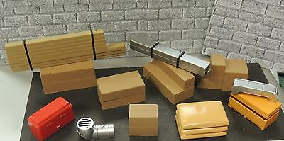 12 PCS Building/Costruction/Plumbing  Material ACCESSORY Kit 1:24 (G) SCALE
