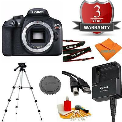 Canon T6/1300D Body Bundle + 3pc Cleaning Kit + Tripod