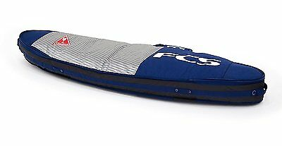 """FCS Double / Triple Surfboard Bag Travel Cover Deep Ink, All Purpose Triple 6 7"""""""