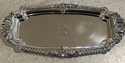 Silver Snuffer Tray Duchess Of Roxburghe Sotheby's Provenance Plated Antique Pen