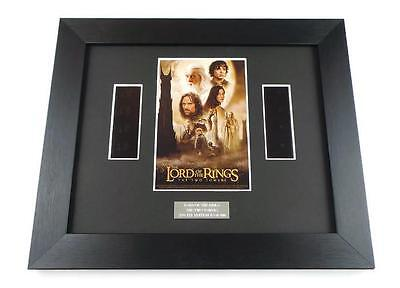 LORD OF THE RINGS FILM CELL TWO TOWERS Framed Gifts ORIGINAL MOVIE MEMORABILIA