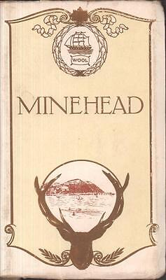 2 Official Guides Minehead Somerset 1910 Edwardian advertising vintage book ads