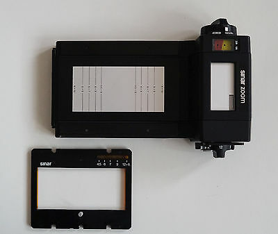 Sinar _ Zoom Multi-Format Roll Film Holder for Large Format Cameras