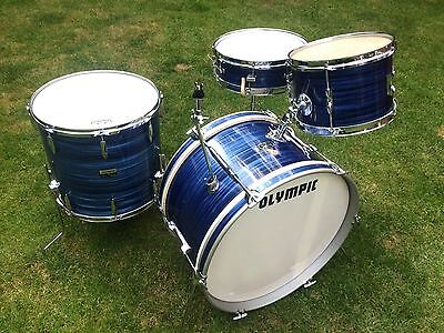 Vintage Premier Olympic Drum Kit - 3 Piece Jazz Kit - 60's