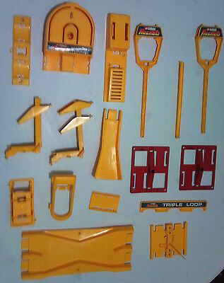 Corgi Rockets Track Accessories,.. crossover, jump, hairpin, etc spares lot