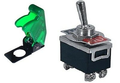 1 PC DPST ON//OFF 4P HD TOGGLE SWITCH 20AMP@125V SOFT RUBBER COVER # 66-1904//5002