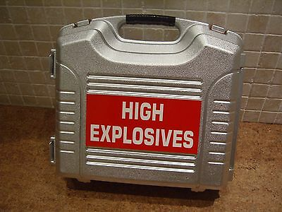 Stage Film Photo Shoot Prop Dummy Silver Case Explosives Nuclear Medic Security