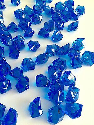 8 Lb Crystal Acrylic Ice Rock Vase Gems Or Table Scatters Medium
