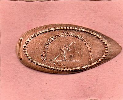 Children's Discovery Museum Of San Jose  Elongated Penny