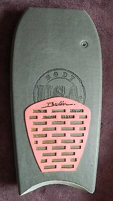 Vintage bodyboard 42 USA Body boarding retro tailpad surf
