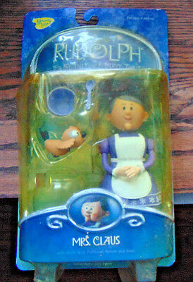Memory Lane Mrs. Claus Rudolph And The Island Of Misfit Toys mint
