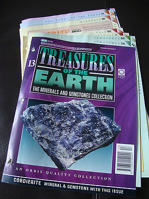 Treasures of the Earth, The Minerals and Gemstones Collection, Issue No. 13