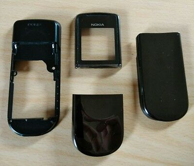 GENUINE OFFICIAL Nokia 8800 Sirocco Battery Cover Door Housing black UK