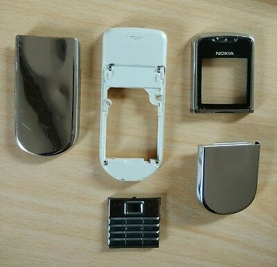 GENUINE OFFICIAL Nokia 8800 Sirocco Battery Cover Door Housing Silver UK