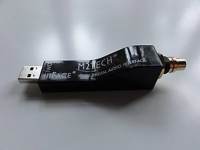 M2Tech HiFace2 USB interface with RCA coax output